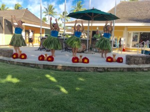 Kapa'a Cultural Center Hula show