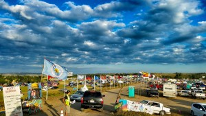Photo of Oceti Sakowin Camp—internet photographer unidentified