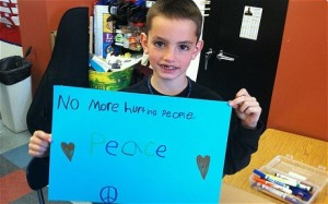 Martin Richard, age 8: killed at the finish line.
