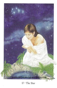 This version from Gaian Tarot by Joanna Powell Colbert
