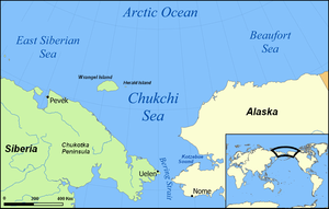 Chukchi Sea map (Wikipedia)