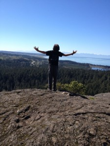 Highest point on Whidbey Island