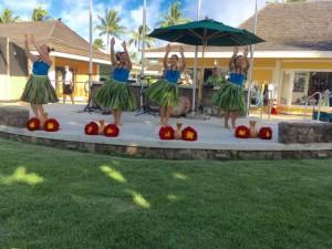 Kapa'a Cultural Center Hula show
