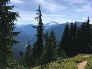 Glacier Peak and the Suiattle River Drainage