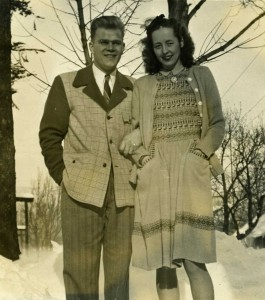 My parents during the war years while in CPS in the Northwest.